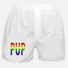 Pup - Gay Pride Boxer Shorts