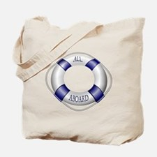 Smooth and Happy Sailing Tote Bag
