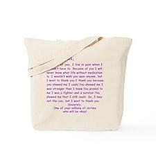 Dear Lupus Tote Bag