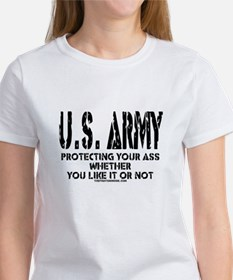 US ARMY PROTECTING YOUR ASS Tee
