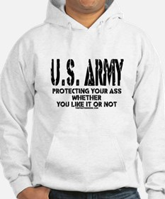 US ARMY PROTECTING YOUR ASS Hoodie
