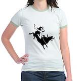 Cuckold bull Jr. Ringer T-Shirt