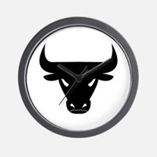 Black Bull Wall Clock