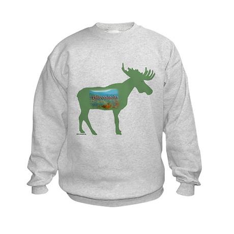 Adirondacks Moose Kids Sweatshirt