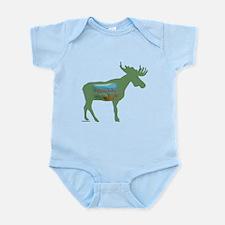 Adirondacks Moose Infant Bodysuit