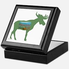 Adirondacks Moose Keepsake Box