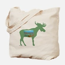 Adirondacks Moose Tote Bag