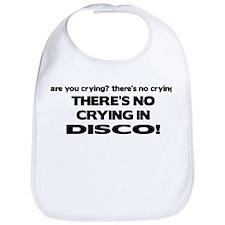 There's No Crying Disco Bib