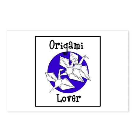 Origami Lover - Paper Cranes Postcards (Package of