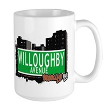 WILLOUGHBY AVENUE, BROOKLYN, NYC Mug