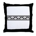 Origami Border Throw Pillow