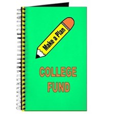 Funny College fund Journal