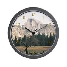 Half Dome Wall Clock