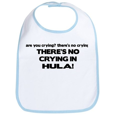 There's No Crying in Hula Bib