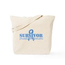 Survivor prostate cancer Tote Bag