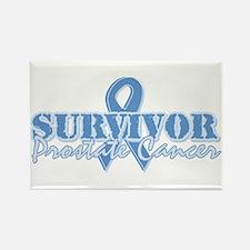 Survivor prostate cancer Rectangle Magnet