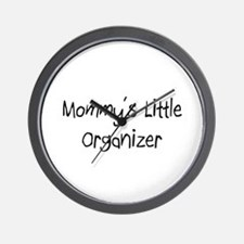 Mommy's Little Organizer Wall Clock