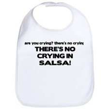 There's No Crying Salsa Bib
