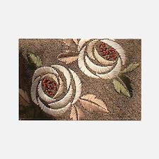 Glasgow Rose Rectangle Magnet