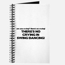 There's No Crying Swing Dancing Journal