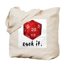 d20 Suck It Tote Bag