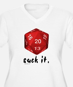 d20 Suck It T-Shirt