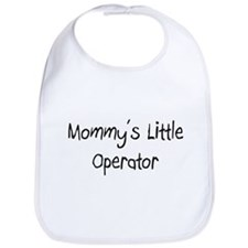 Mommy's Little Operator Bib