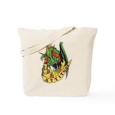 Dragon Attitude Tote Bag