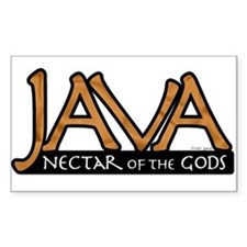 Java - Nectar of the Gods Rectangle Decal
