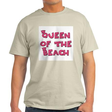 Queen of the Beach - Ash Grey T-Shirt
