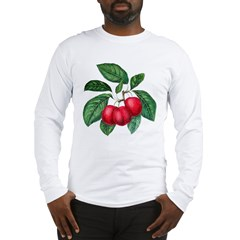 CHERRY RED Long Sleeve T-Shirt