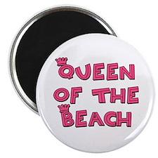 Queen of the Beach - Magnet