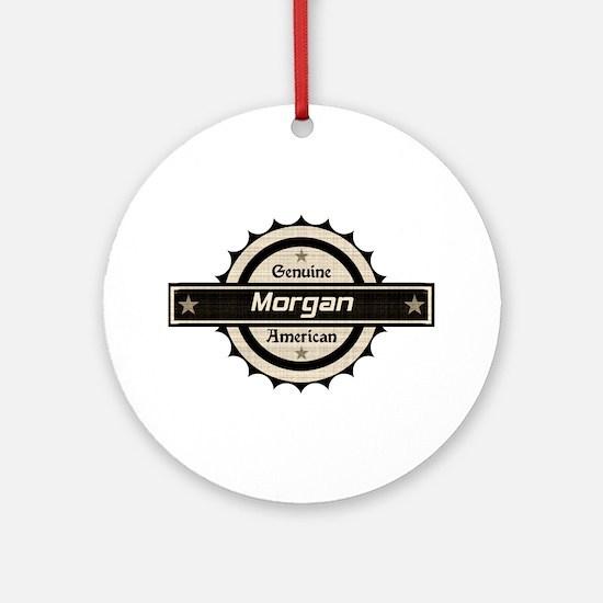 Genuine American Morgan Ornament (Round)