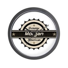 Genuine American Morgan Wall Clock