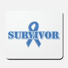 Light Blue Survivor Mousepad