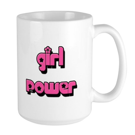 GIRL POWER Large Mug