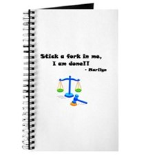 Stick a Fork In Me 2 Journal
