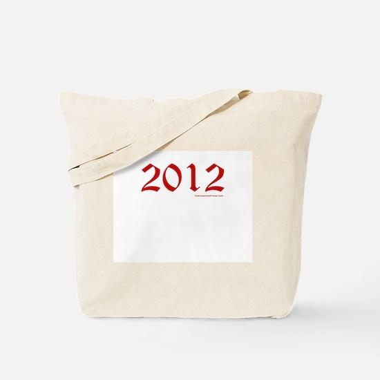 2012 Red - Tote Bag