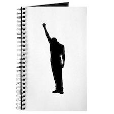 Black Power Fist Raised Journal