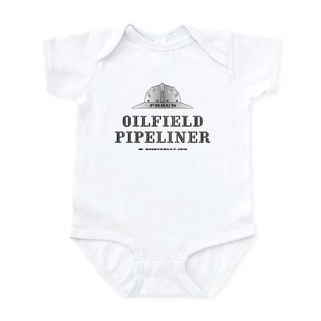 Oilfield Pipeliner Infant Bodysuit