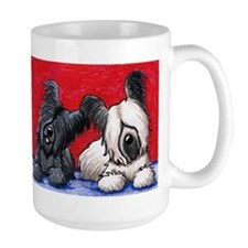 Skye Terrier Duo Mug