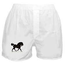 Black Horse Socks Blaze Boxer Shorts