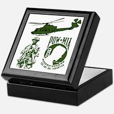 POW-MIA Green Keepsake Box