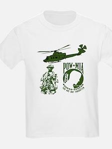 POW-MIA Green T-Shirt