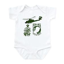 POW-MIA Green Infant Bodysuit