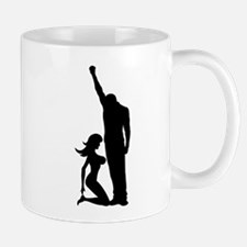 Black Power Female Kneels Mug