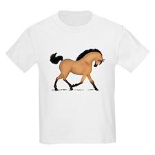 Trotting Buckskin Horse T-Shirt