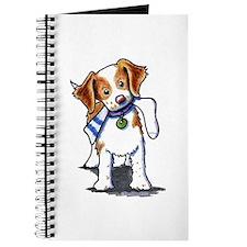 Playful Brittany Spaniel Journal