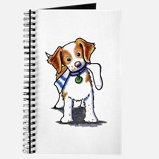 Playful Brittany Spaniel Journal