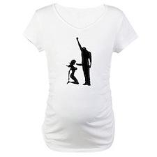 Black Power Female Kneels and Shirt